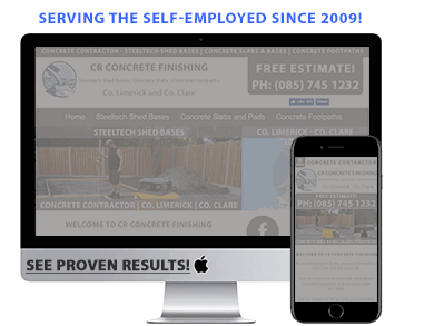 BizWeb365 Ireland | Low Cost Websites for the self-employed in Ireland | We set-up, design and manage websites for the self-employed in Ireland | Designed and Managed Websites for the Self-Employed | 100% Irish