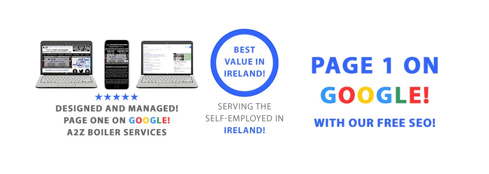 We set-up and design websites for the self-employed and small business in every county in Ireland