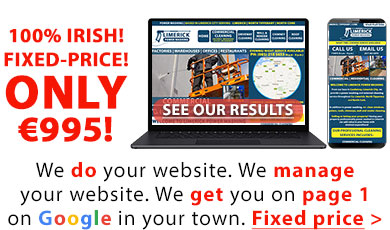 Websites with SEO for the self-employed in Ireland